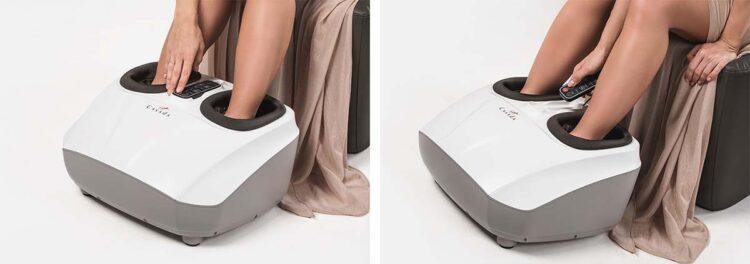 ReflexoMed II Foot Massager Application & Usage