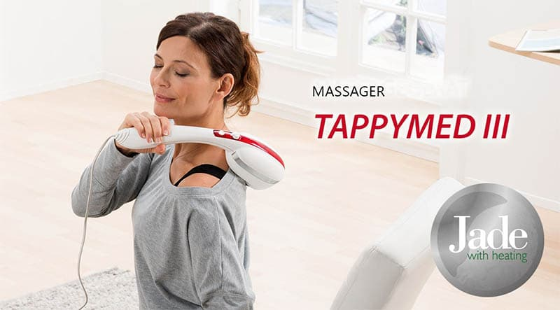 Tappymed III - Back Massager + Neck & Shoulder Massager